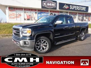 Used 2015 GMC Sierra 1500 SLT  NAV CAM LEATH P/SEATS HTD-S/W 18-AL for sale in St. Catharines, ON