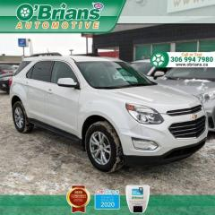 Used 2017 Chevrolet Equinox LT - Accident Free! w/AWD, Command Start, Heated Seats, Backup C for sale in Saskatoon, SK