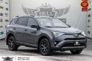 Used 2018 Toyota RAV4 SE, AWD, NAVI, REAR CAM, B.SPOT, ROOF, LEATHER for sale in Toronto, ON