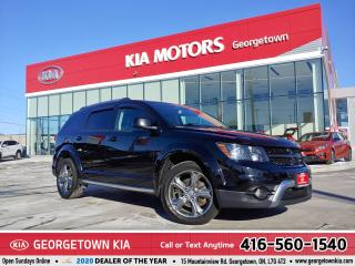 Used 2017 Dodge Journey CROSSROAD | LTHR | NAV | B/U CAM | HTD SEATS |108K for sale in Georgetown, ON