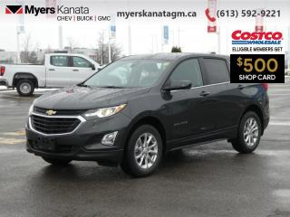Used 2021 Chevrolet Equinox LT  -  Power Seats -  Heated Seats for sale in Kanata, ON