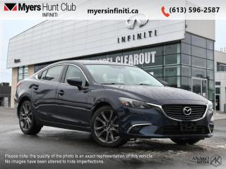 Used 2016 Mazda MAZDA6 GT  - Sunroof -  Leather Seats for sale in Ottawa, ON