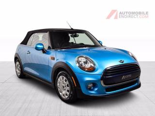 Used 2017 MINI Cooper Convertible CONVERTIBLE CUIR for sale in St-Hubert, QC