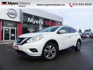 Used 2016 Nissan Murano SV  - Sunroof -  Navigation - $132 B/W for sale in Orleans, ON