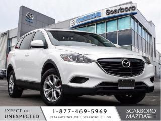 Used 2014 Mazda CX-9 LUXURY PKG|AWD|BLIND SPOT MONITORING|CLEAN CARFAX for sale in Scarborough, ON