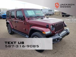 New 2021 Jeep Wrangler Sahara 80th Anniversary for sale in Medicine Hat, AB