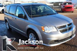 Used 2018 Dodge Grand Caravan SXT - Rear DVD, Bluetooth, Stow and go for sale in Medicine Hat, AB