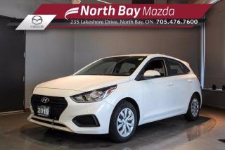 Used 2019 Hyundai Accent Essential Manual - LOW MILEAGE - Clean CarFax for sale in North Bay, ON