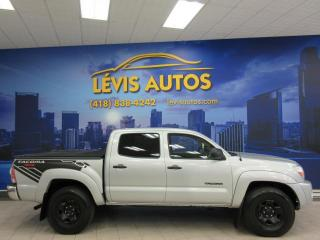 Used 2009 Toyota Tacoma SR5 V6 AUTOMATIQUE 4X4 CREW-CAB AIR CLIM for sale in Lévis, QC