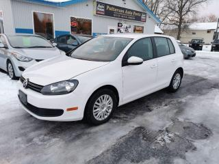 Used 2012 Volkswagen Golf 2.5L for sale in Madoc, ON