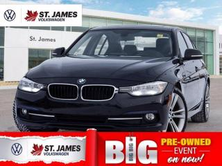 Used 2016 BMW 3 Series 320i xDrive, Clean Carfax, Heated Steering Wheel and Seats for sale in Winnipeg, MB