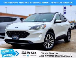 Used 2020 Ford Escape TITANIUM HYBRID AWD for sale in Winnipeg, MB