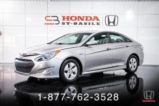 Used 2012 Hyundai Sonata HYBRID + CUIR + A/C + CRUISE + MAGS + WO for sale in St-Basile-le-Grand, QC