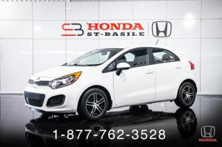 Used 2015 Kia Rio EX + AUTO + HATCH + A/C + CRUISE + WOW! for sale in St-Basile-le-Grand, QC