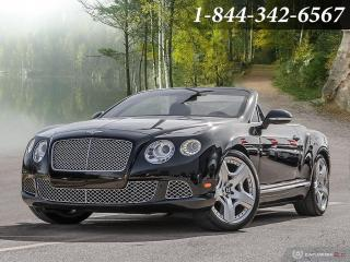Used 2012 Bentley Continental 2dr Convertible | CLEAN CARFAX | for sale in Oakville, ON