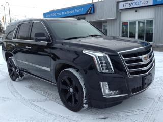 Used 2017 Cadillac Escalade Premium Luxury DVD, NAV, LEATHER, HEATED SEATS 22