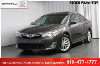 Used 2014 Toyota Camry HYBRID HYBRID| XLE| CUIR for sale in Drummondville, QC