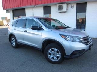 Used 2013 Honda CR-V lx $11,995+HST+LIC FEE / CLEAN CARFAX / CERTIFIED / NO CHARGE SNOW TIRES for sale in North York, ON