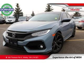 Used 2018 Honda Civic Sport Touring | CVT for sale in Whitby, ON