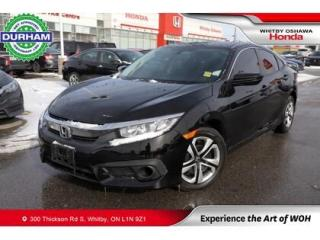 Used 2017 Honda Civic LX   CVT for sale in Whitby, ON