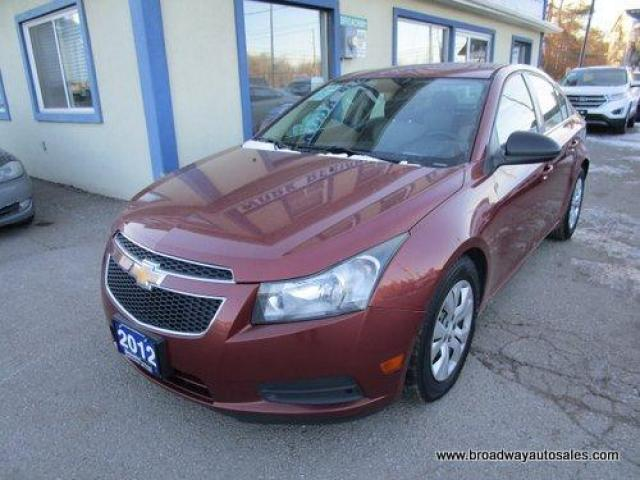 2012 Chevrolet Cruze WELL EQUIPPED 2-LS EDITION 5 PASSENGER 1.8L - ECO-TEC.. CD/AUX INPUT.. KEYLESS ENTRY..