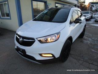 Used 2019 Buick Encore POWER EQUIPPED PREFERRED EDITION 5 PASSENGER 1.4L - TURBO.. LEATHER TRIM.. BACK-UP CAMERA.. POWER SUNROOF.. BLUETOOTH SYSTEM.. TOUCH SCREEN DISPLAY.. for sale in Bradford, ON