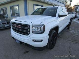 Used 2017 GMC Sierra 1500 GREAT KM'S SLE-ELEVATION-EDITION 6 PASSENGER 5.3L - VORTEC.. 4X4.. CREW-CAB.. SHORTY.. BACK-UP CAMERA.. BLUETOOTH.. HEATED SEATS.. TOW SUPPORT.. for sale in Bradford, ON