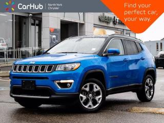 Used 2020 Jeep Compass Limited 4x4 Heated Seats Remote Start SXM Backup Camera for sale in Thornhill, ON