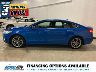 Used 2020 Ford Fusion Hybrid Titanium CLEAN CARFAX, NO HAIL.. for sale in Calgary, AB