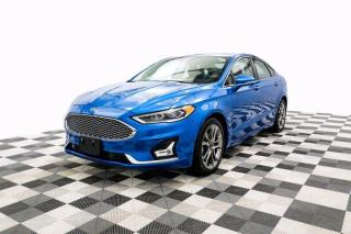 Used 2020 Ford Fusion Hybrid Titanium Sunroof Leather Adaptive Cruise Control for sale in New Westminster, BC