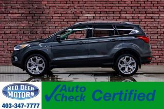 Used 2019 Ford Escape AWD Titanium Leather Roof Nav BCam for sale in Red Deer, AB