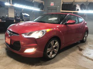 Used 2013 Hyundai Veloster w/Tech *  Navigation * Cloth Seats W/leather Inserts * Panoramic Sunroof *  18 Alloy Rims * 17 Steelies W/ Winter Tires * Push Button Start * Keyles for sale in Cambridge, ON