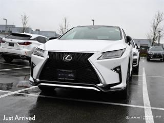 Used 2018 Lexus RX 350 8A for sale in Richmond, BC