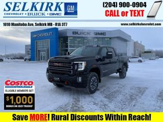 New 2021 GMC Sierra 2500 HD AT4  - Power Sunroof for sale in Selkirk, MB
