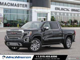 New 2021 GMC Sierra 1500 Denali V8   4X4   TECHNOLOGY PKG   MOON ROOF   FORWARD COLLISION ALERT   HD SURROUND VISION for sale in London, ON