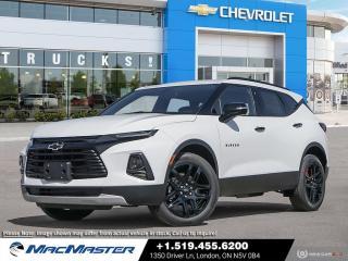 New 2021 Chevrolet Blazer LT TURBO | REDLINE EDITION | AWD | AUTOMATIC START/STOP | HEATED SEATS | LANE CHANGE ALERT for sale in London, ON