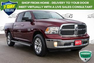 Used 2017 RAM 1500 SLT LOW MILEAGE LOCAL TRADE for sale in Innisfil, ON