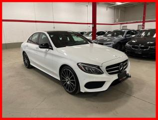 Used 2017 Mercedes-Benz C-Class C300 4MATIC *SOLD* NIGHT PREMIUM PLUS LED 19'S RED INT! for sale in Vaughan, ON