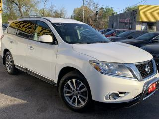 Used 2014 Nissan Pathfinder SL/TECH PKG/NAVI/LEATHER/R.CAM/PUSH START for sale in Scarborough, ON
