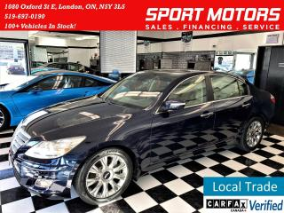 Used 2009 Hyundai Genesis 3.8L V6+Sunroof+Heated Leather+Xenon Lights for sale in London, ON
