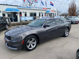 Used 2015 Dodge Charger SXT-NAVI-REAR VIEW CAMERA-ACCIDENT FREE for sale in Stoney Creek, ON