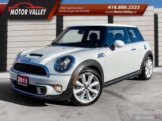 Used 2011 MINI Cooper S Only 082,966KM Sunroof/Leather Mint! for sale in Scarborough, ON
