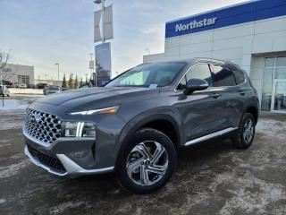 New 2021 Hyundai Santa Fe PREFERRED/3MBUMPERHOODFENDERS/BLUELINK/WIRELESS APPLE CARPLAY ANDROID AUTO/FULL SAFETY PKG/HEATED SEATS/HEATED STEERING/POWER DRIVERS SEAT for sale in Edmonton, AB