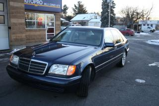 Used 1997 Mercedes-Benz S-Class BULLET PROOF, EXCELLENT CONDITION for sale in Nepean, ON