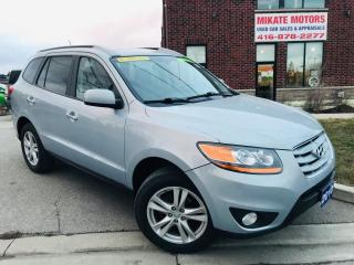 Used 2010 Hyundai Santa Fe Limited AWD for sale in Rexdale, ON