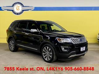 Used 2017 Ford Explorer Platinum, AutoPilot Parking, Navi, Roof for sale in Vaughan, ON