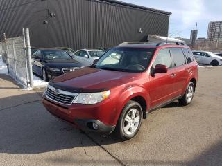 Used 2010 Subaru Forester X for sale in Kitchener, ON