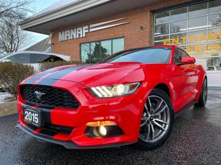 Used 2015 Ford Mustang Fastback EcoBoost Navi R.Cam Remote Starter Cert* for sale in Concord, ON