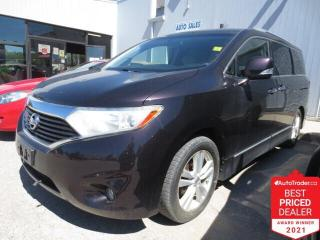 Used 2011 Nissan Quest 4dr SL - DVD/Power Sliding Doors/Leather/Camera for sale in Winnipeg, MB