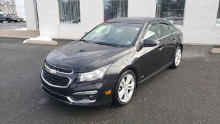 Used 2015 Chevrolet Cruze LTZ with RS Pkg/Sunroof/Navigation for sale in Kentville, NS